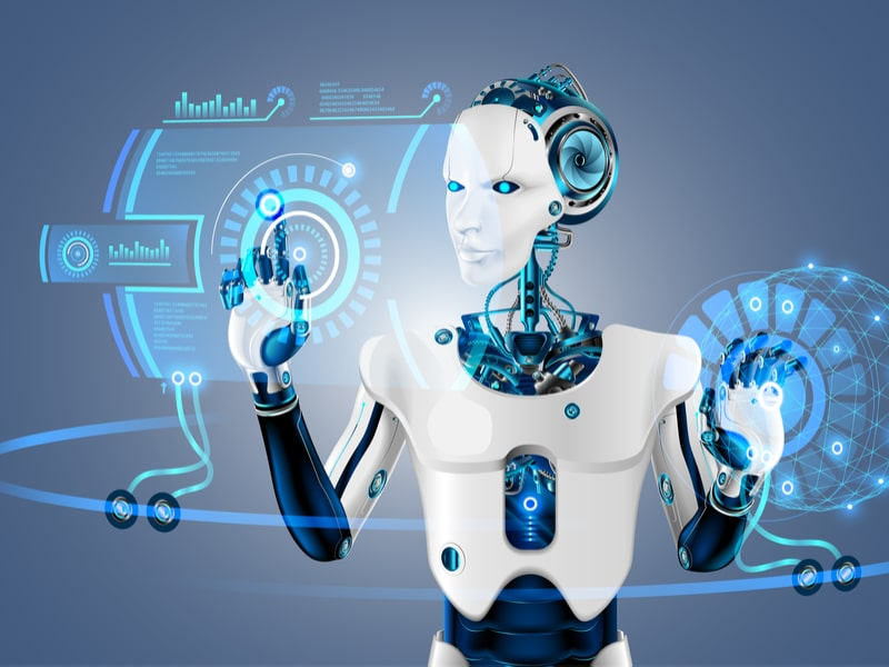 Modern robots and artificial intelligence